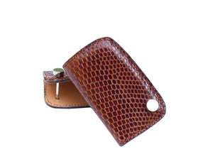 Single Car Key Holder - Accenti Leather