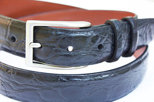 alligator belt matte finish