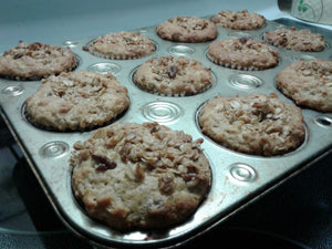 Maple-Pecan Duet Crunchy-Top Muffins