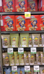 Sining Bowl Granola vs Cap'n Crunch
