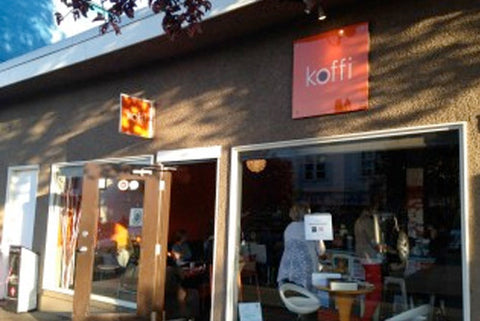 Koffi coffee shop on Haultain St in Victoria BC