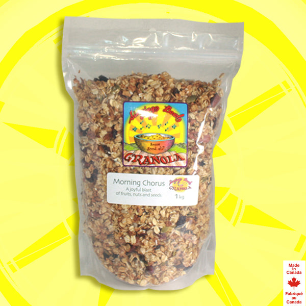 Morning Chorus Fruit & Nut Granola Kilo