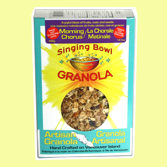 Singing Bowl Granola - Singing Bowl Granola