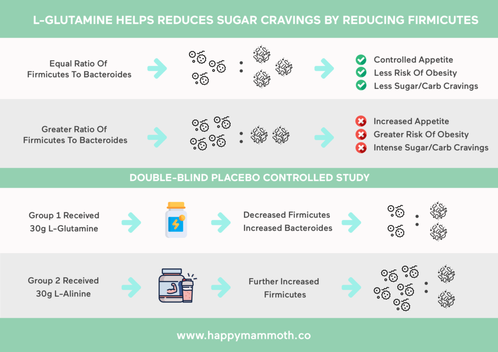 L-glutamine sugar cravings