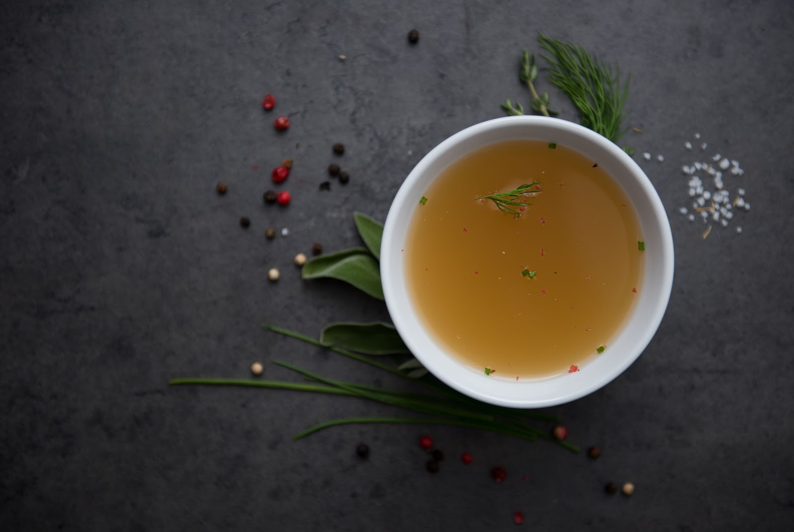 Bone broth is one of the top foods with collagen