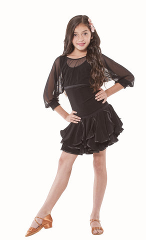 Girls Latin Skirt 146A
