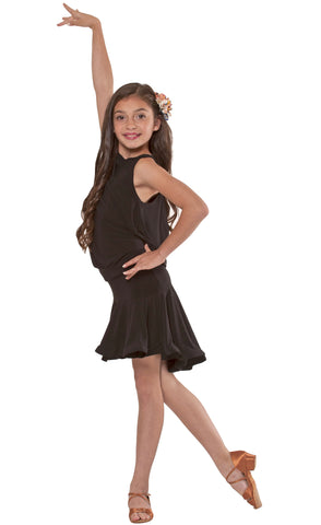Girls Latin Skirt 22A