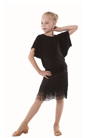 Girls Latin Skirt 276E