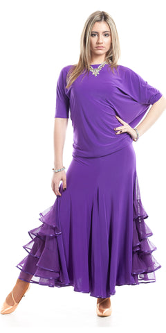 Standard Skirt Purple 168E