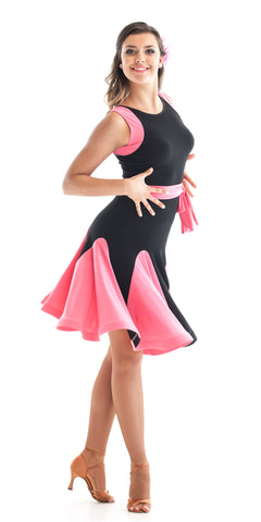 Latin Dress Sweet Pink