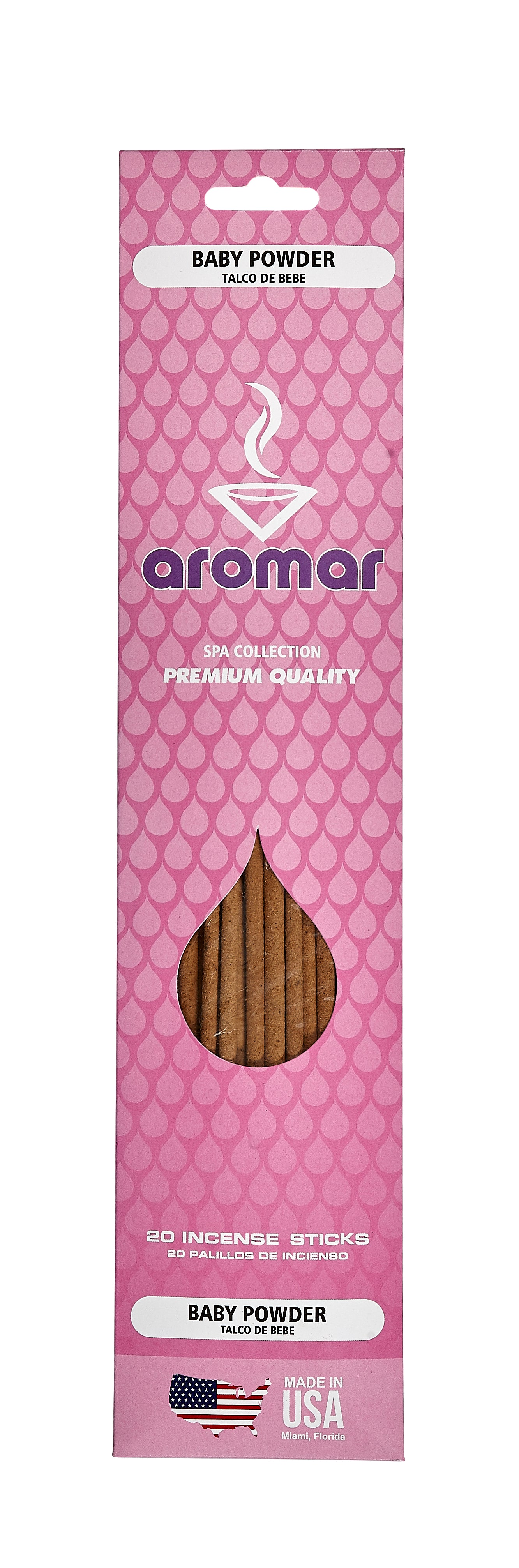 Baby Powder Premium Hand Dipped Pre-Packed Incense