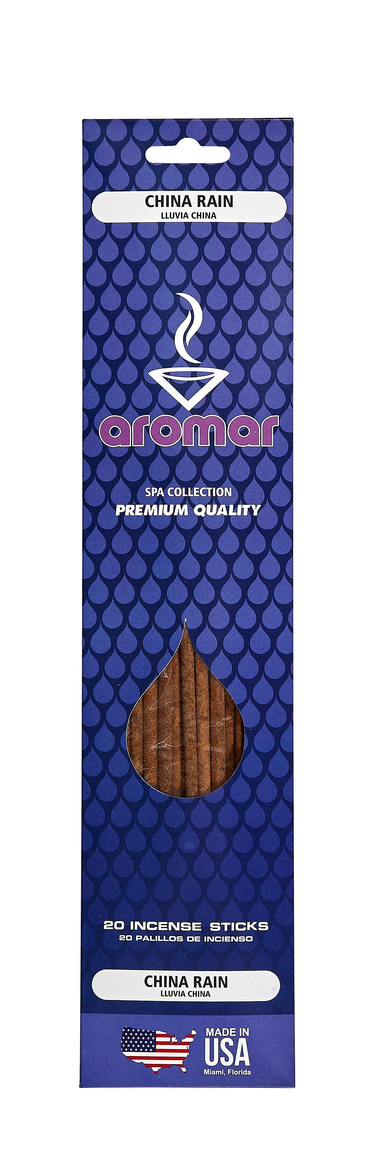 China Rain Premium Hand Dipped Pre-Packed Incense