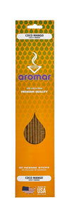 Coco Mango Premium Hand Dipped Pre-Packed Incense