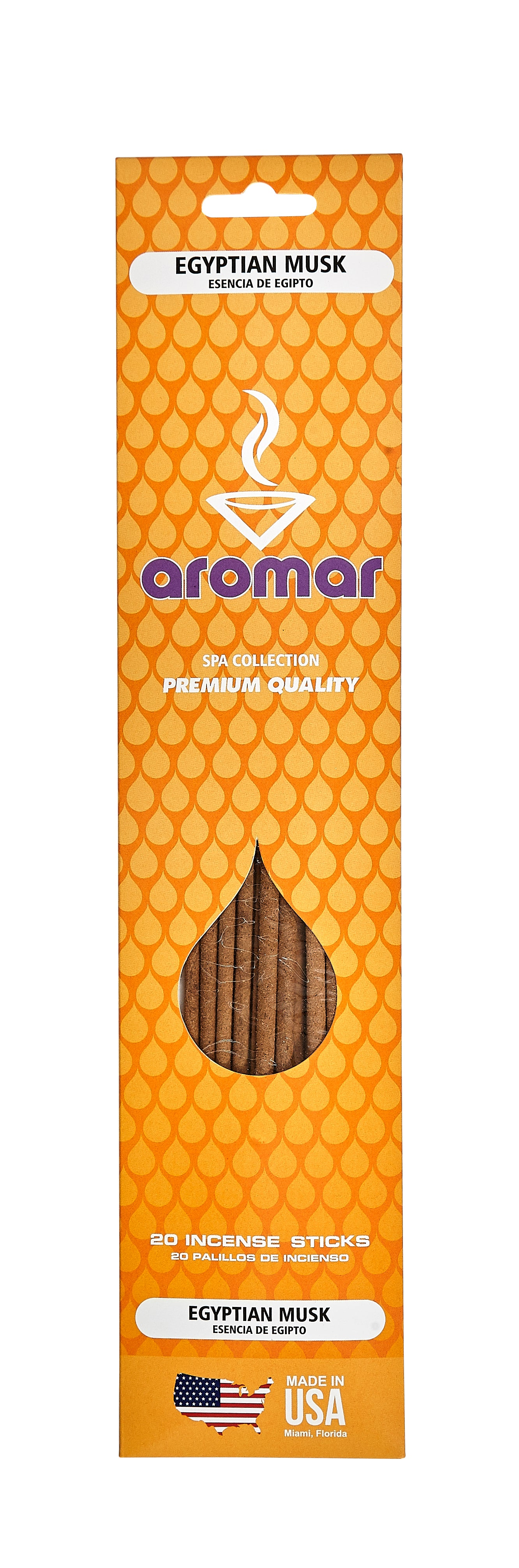 Egyptian Musk Premium Hand Dipped Pre-Packed Incense