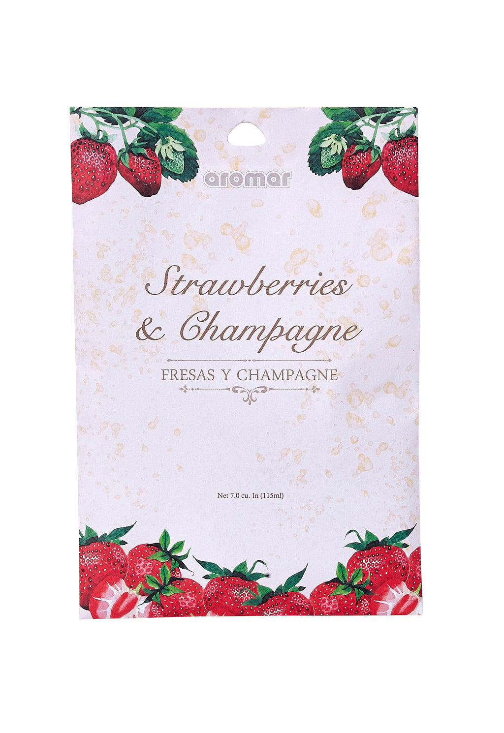 Strawberries & Champagne Scented Sachets