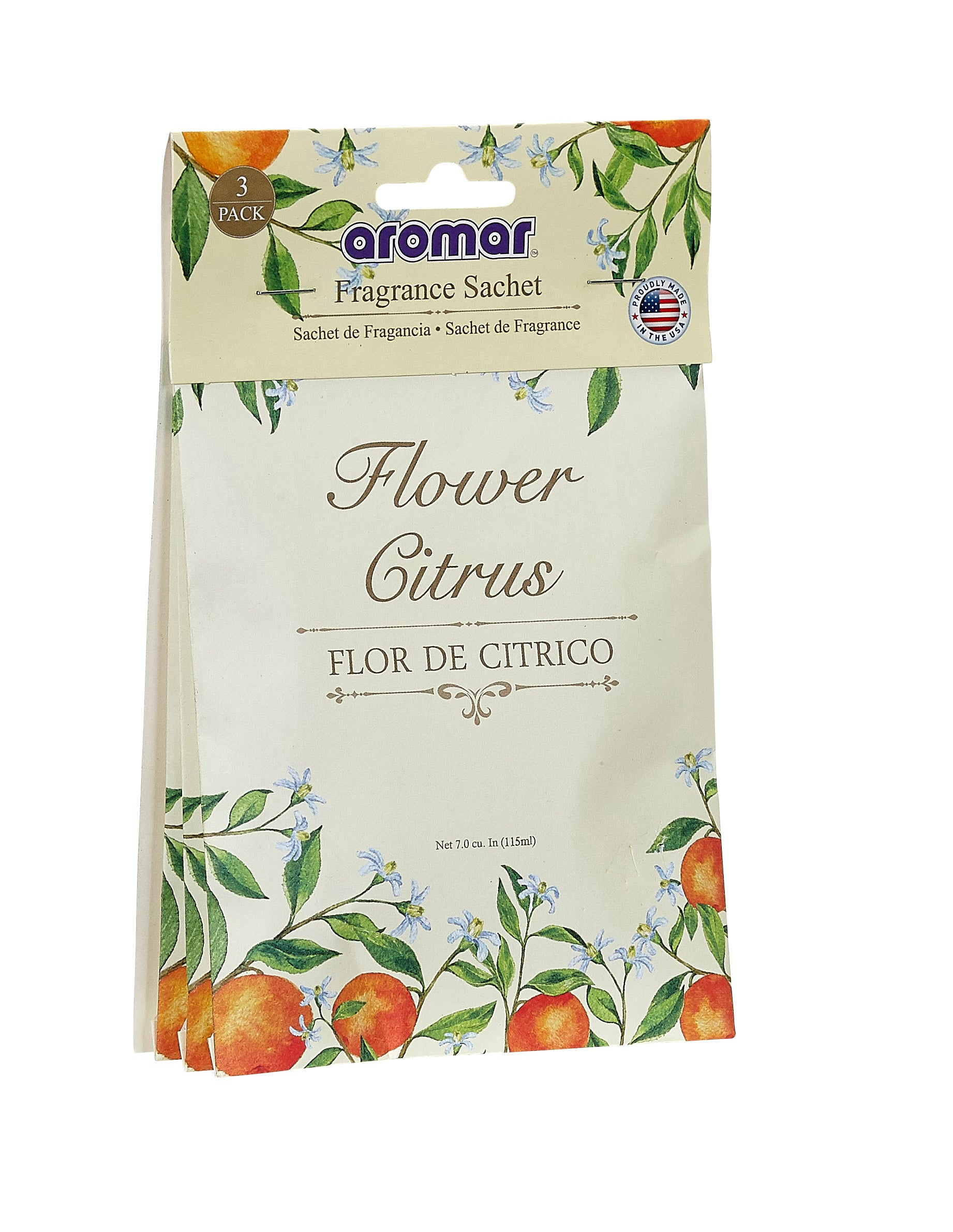Flower Citrus Scented Sachets