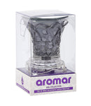 Aromar Glass Column Oil Warmer- Electric Dimmer Lamp