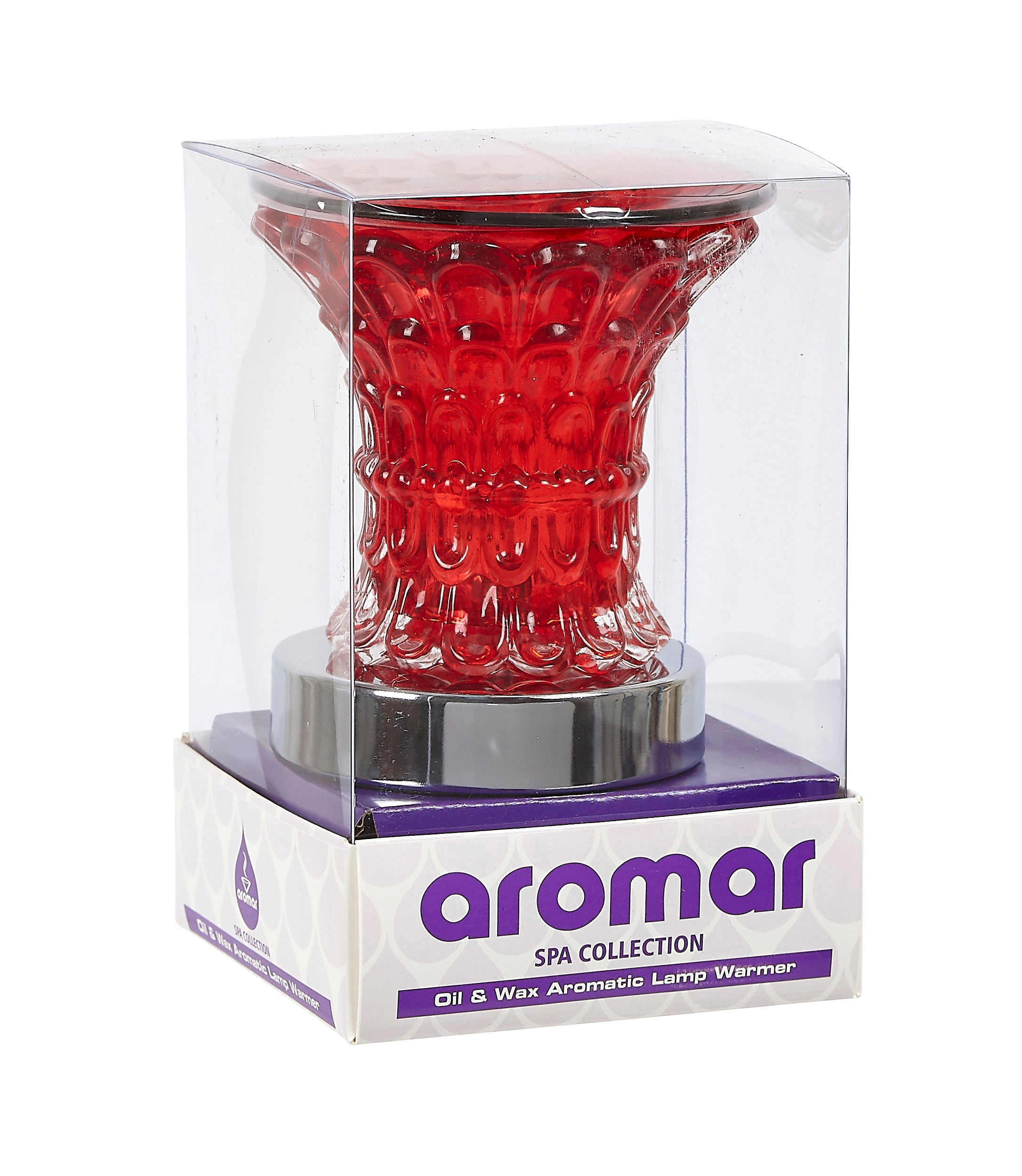 Aromar Glass Torch Oil Warmer- Electric Touch Lamp
