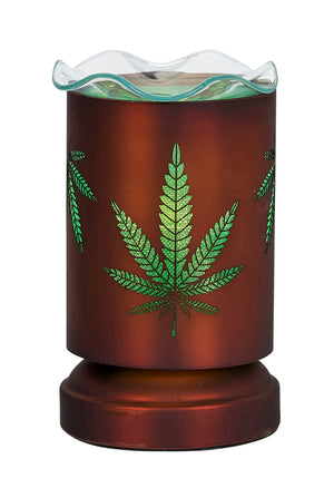 Aromar Copper Cannabis Oil Warmer- Electric Touch Lamp