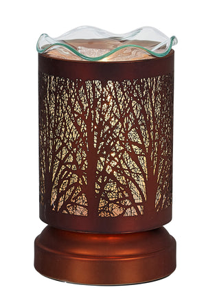Aromar Copper Design Oil Warmer- Electric Touch Lamp