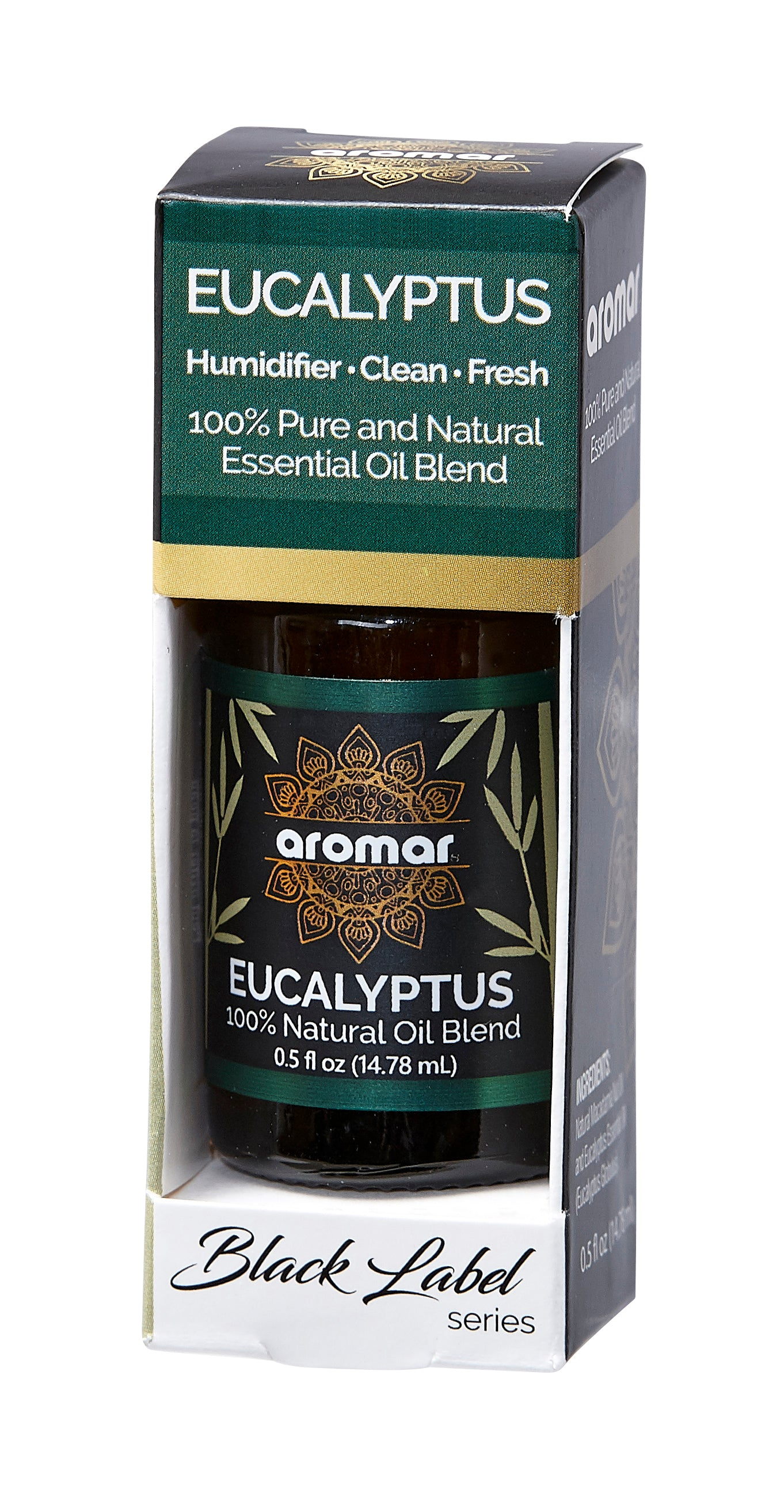 Eucalyptus Essential Oil 0.5oz | BLACK LABEL