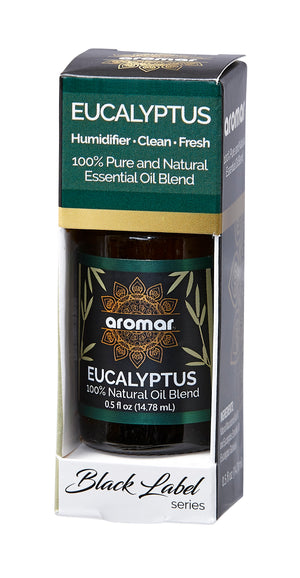 EUCALYPTUS BLACK LABEL ESSENTIALS 0.5 OZ. | AROMAR