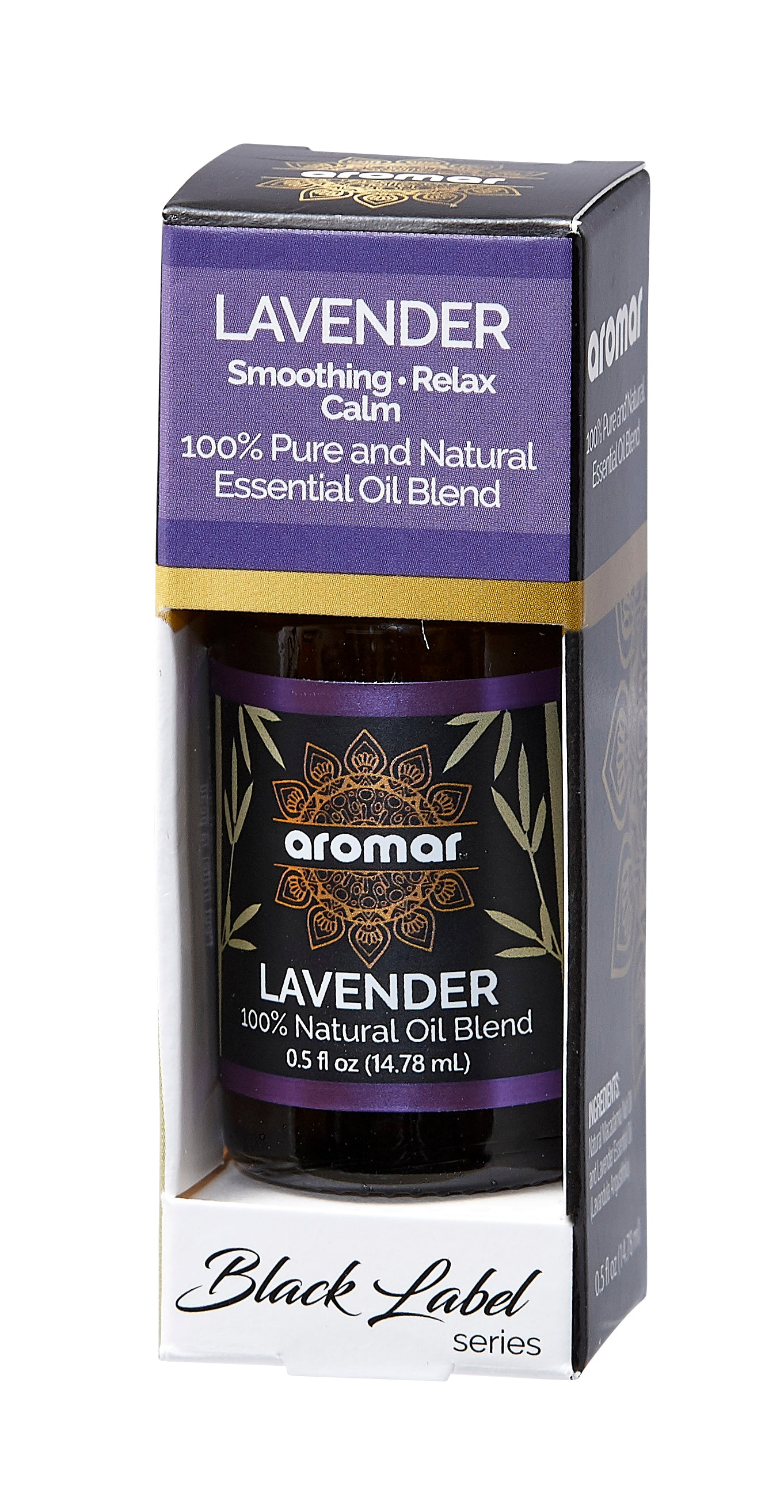 LAVENDER BLACK SERIES ESSENTIALS 0.5 OZ BOX