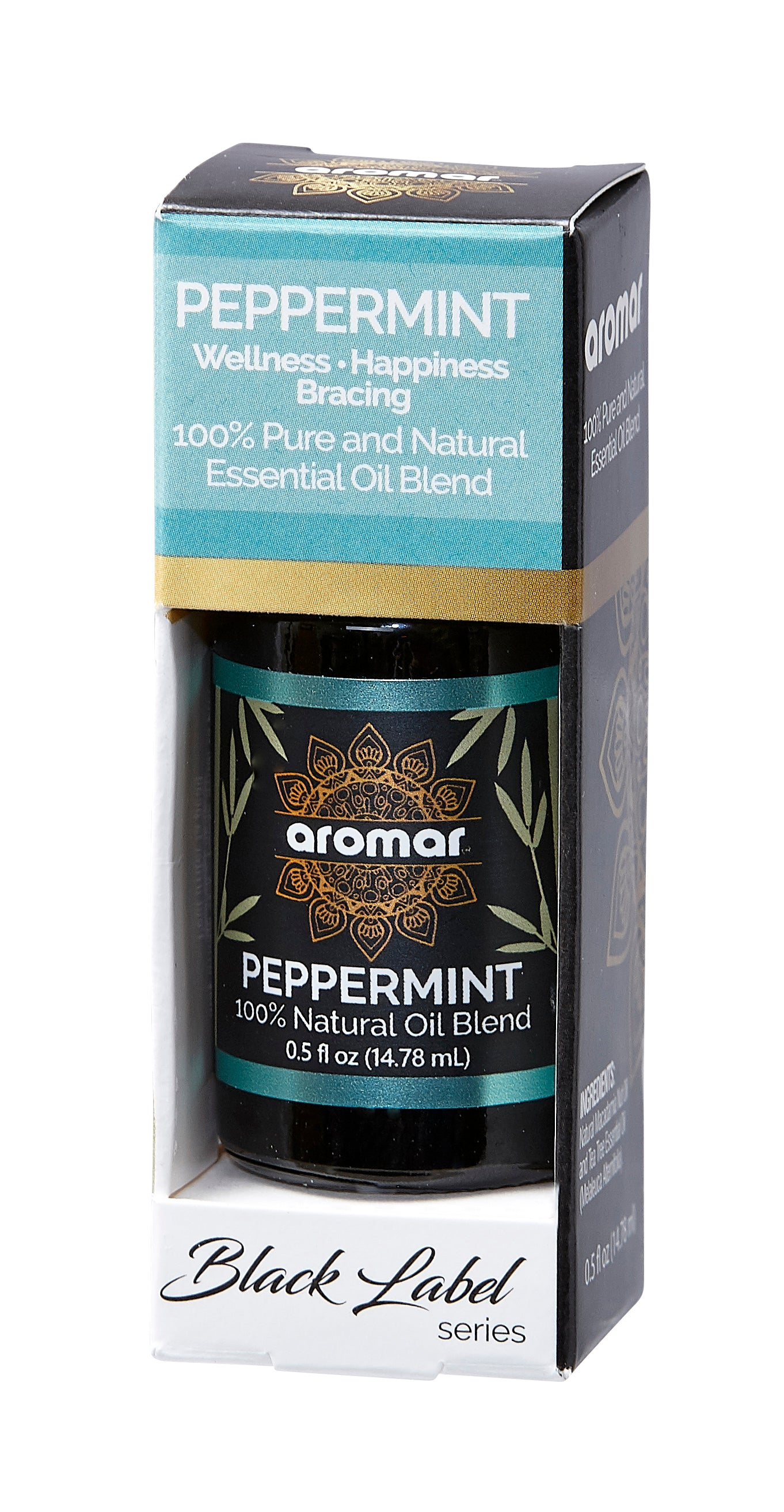 PEPPERMINT BLACK SERIES ESSENTIALS 0.5 OZ. BOX