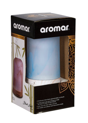 Glass Ultrasonic Aroma Oil Diffuser Fumes 100ml | AROMAR