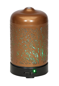 Ultrasonic Aroma Oil Diffuser Metal Design 100ml | AROMAR