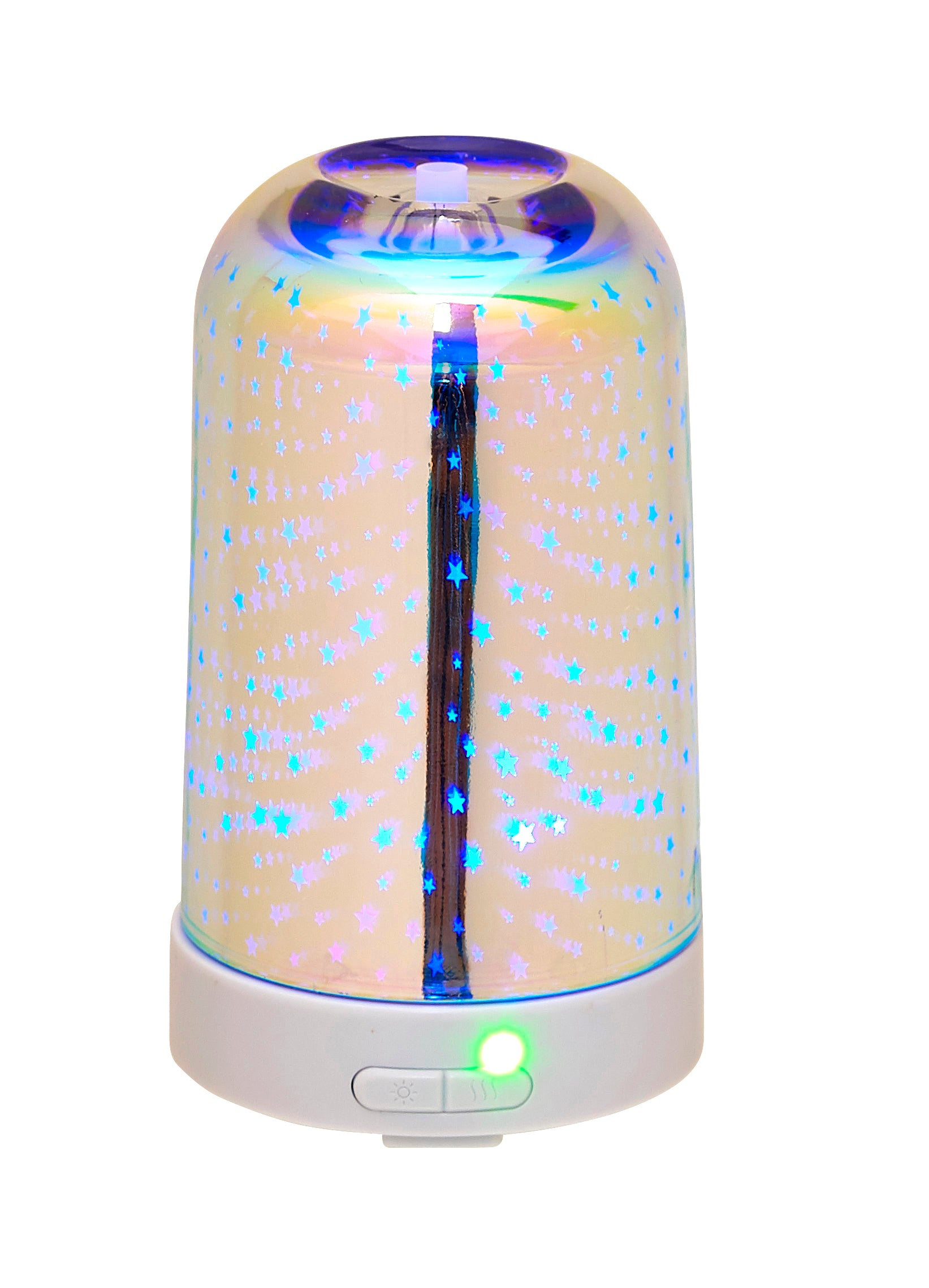 3D Glass Pattern Design Ultrasonic Oil Diffuser 100ml