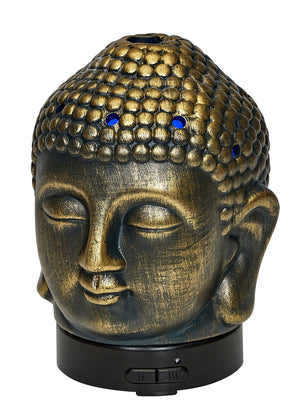 Ultrasonic Aroma Oil Diffuser Buddha Ceramic Design 100ml | AROMAR