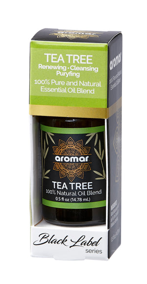 TEA TREE OIL BLACK SERIES ESSENTIALS 0.5 OZ. BOX