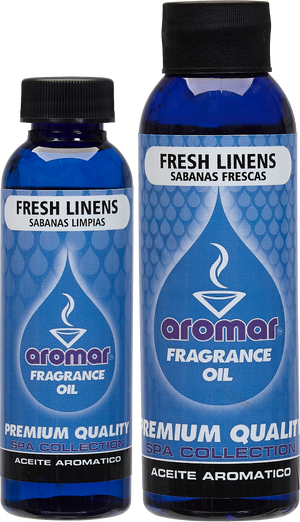 AROMAR FRESH LINEN FRAGRANCE OILS 2 OZ & 4 OZ