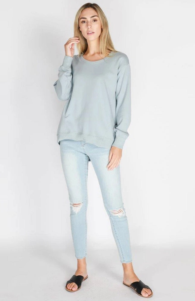 Newhaven Sweater - Storm Blue