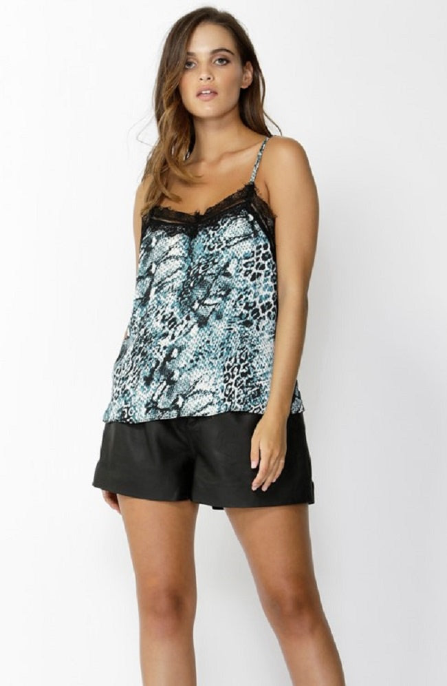 Strong Enough Cami - Snake Print
