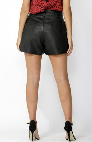 Seoul Leather Shorts