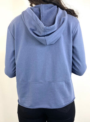 Greta Sweater - Blue Stone
