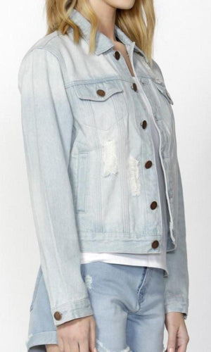 Nyala Shredded Denim Jacket