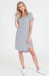 Milly Dress - Navy Stripe