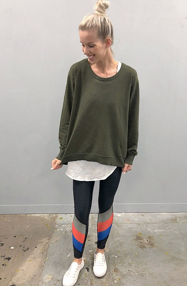 Newhaven Sweater - Sage