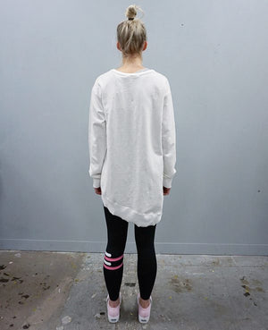 Newhaven Sweater - White