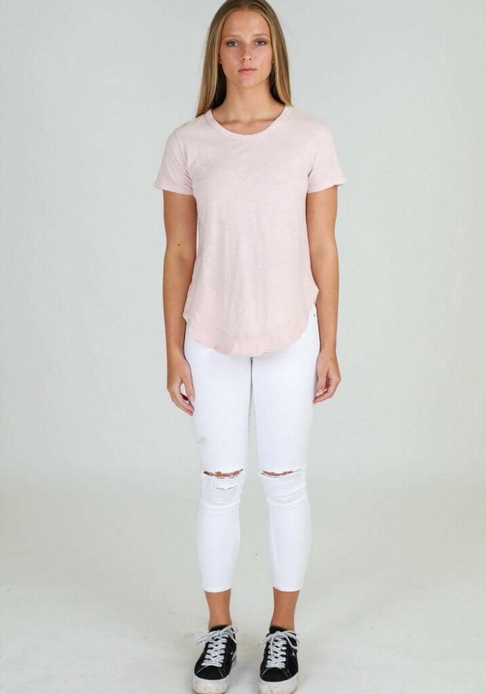 Paddington Tee - Blush Marle