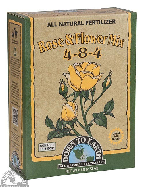 Rose & Flower Mix 4-8-4