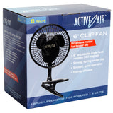"Active Air 6"" Clip Fan 5W"
