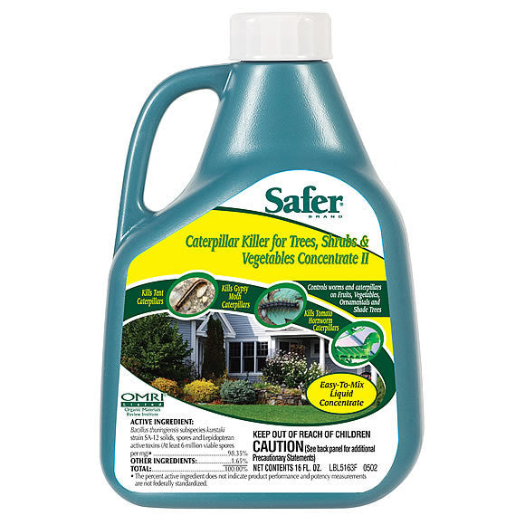 Safer Caterpillar Killer 16oz Concentrate