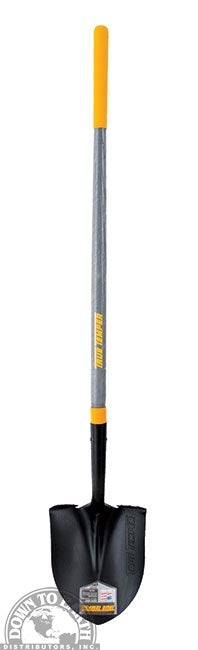 True Temper Round Point Shovel
