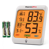 ThermoPro Hygrometer  Temperature and Humidity Monitor