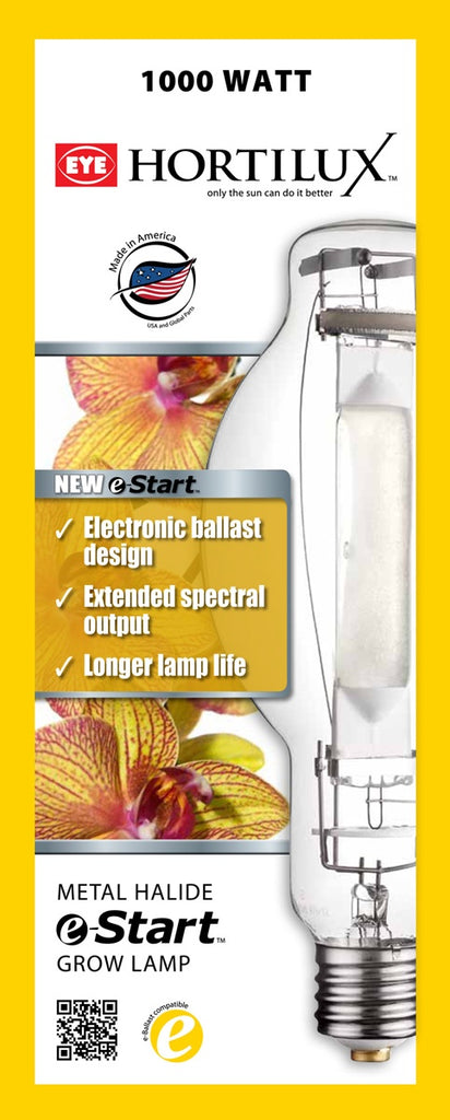Hortilux e-Start Metal Halide (MH) Lamp, 1000W