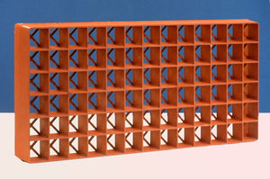 Grodan Gro-Smart Tray 78-Cell Terracotta